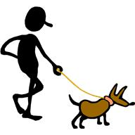 Post 15-walking dog