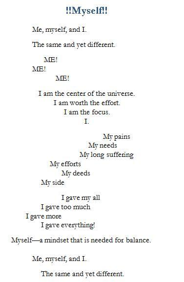 Poem-Myself