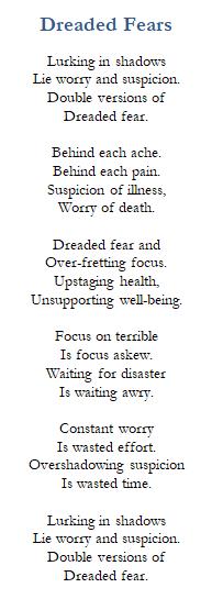 Poem-Dreaded Fear